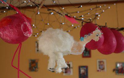 Erlebnishaus – Alpakas und Flamingos für unser Laternenfest