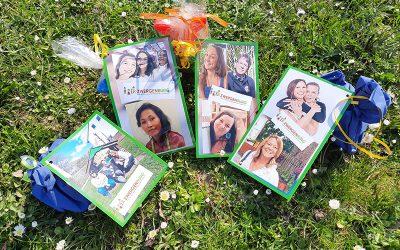 Zwergenburg verteilt persönliche Ostergrüße
