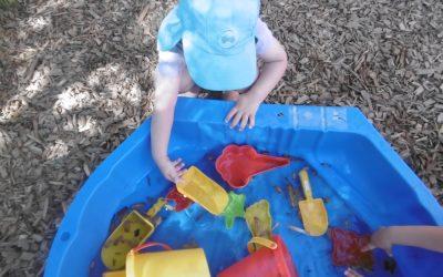 Erlebnishaus – Wasserspiele im Garten